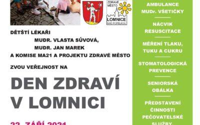 Den zdraví, výstava Naděje v Lomnici nad Popelkou